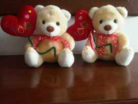 boneka bear balon love