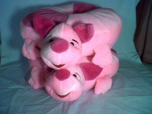 boneka piglet bantal sofa pink