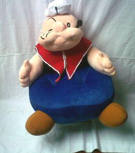 boneka sofa popeye
