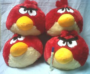 jual boneka angry bird murah
