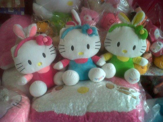 boneka hello kitty bando bunny