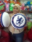 bantal club bola chelsea