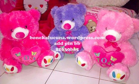 boneka beruang love