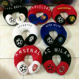 bantal leher club bola murah