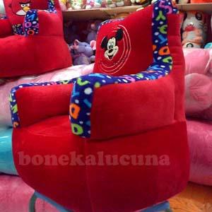 sofa anak karakter mickey mouse