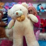 boneka beruang besar krem