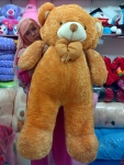boneka beruang besar coklat muda