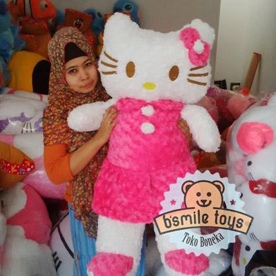 gambar hello kitty besar pink